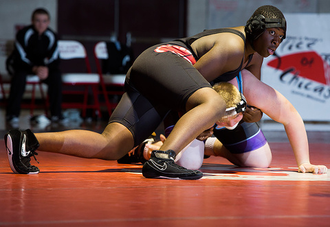 Keyshawn Stewart picked up an overtime victory for the Spartans Thursday evening.